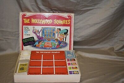 The Hollywood Squares Vintage Board Game 1968 by Heatter-Quigley Co.