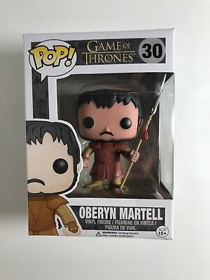 Funko POP! Game of Thrones Oberyn Martell #30 Vaulted With Protector New