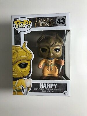 Funko Pop! Game of thrones Harpy #43 With Pop Protector Ships Fast New
