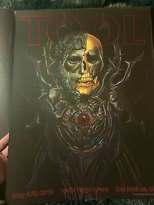 TOOL CONCERT POSTER ST LOUIS ADI GRANOV PRINT ENTERPRISE CENTER TOUR GIG EMEK