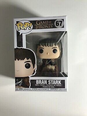 Funko Pop! Game of Thrones - Bran Stark in Wheelchair #67 Vinyl Figure W/Protect