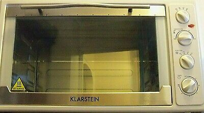 Klarstein Mini Oven Electric Kitchen Grill Rotisserie Counter/Table 60Ltre  115
