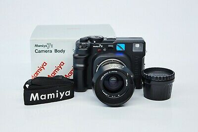 Mamiya 7 II with 65mm f/4 Lens and Box Barely Used CLA'd Tested Mint