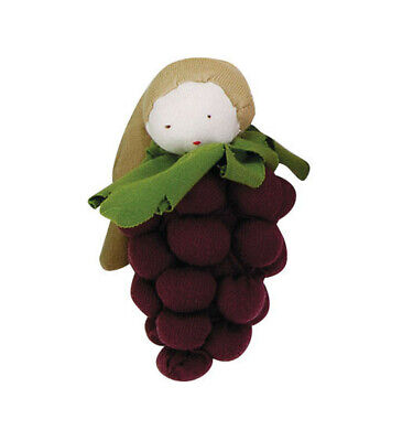 NEW~*SALE*~Under The Nile~Purple Grapes Baby Teething Toy~Organic Cotton~0 M+