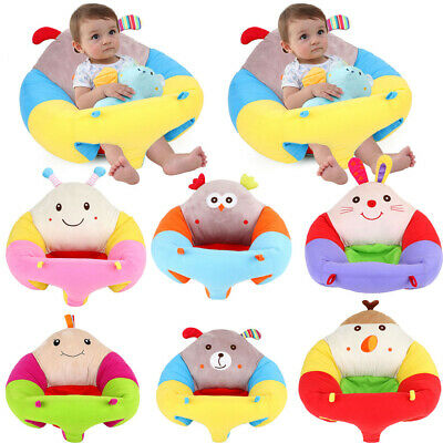 Baby Cute Cotton Support Seat Soft Chair Cushion Sofa Plush Car Seat Pillow NEW