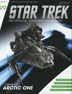 Star Trek Official Starship Collection Number 99 - Assimilated Arctic One