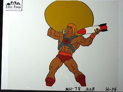 He-Man & The Masters Of The Universe Animation Production Cel: He-Man - 158