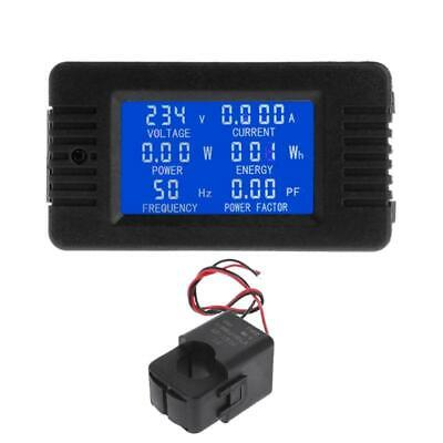 AC 100A 6in1 Digital Power Energy Monitor Voltage Current KWh Watt Meter AC