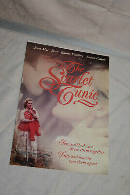 THE SCARLET TUNIC Cinema Movie Synopsis Book, PREMIERE Programme 1997