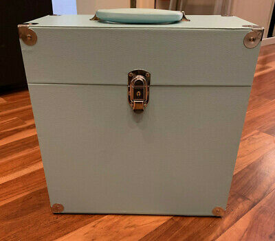 """Jack & Cable Blue Record Case for 12"""" LP Albums - Imperfect"""