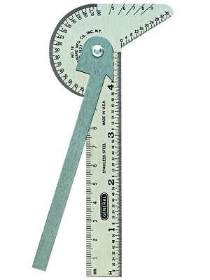 General Tools 16ME Pocket-Sized 6-In-1 Multi Use Rule and Gage with 4-Inch Ruler