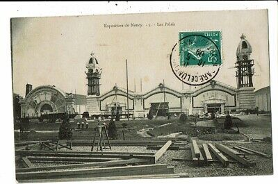 CPA-Carte Postale-France-Nancy-Exposition de 1909- Les Palais VM10970