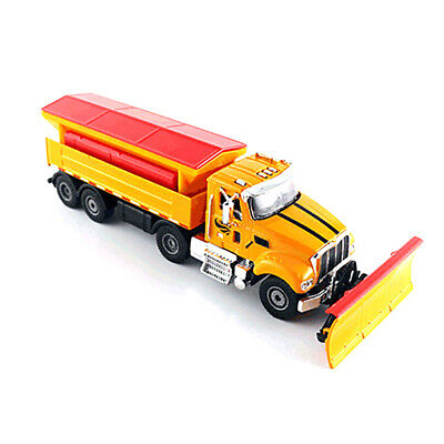 1:50 scale Metal Alloy Diecast Snowplow Snow Car Vehicles Model Kids Toy Gift