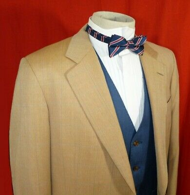"""Chester Barrie Mens Vintage Savile Row Hand Tailored Pure Wool Blazer Jacket 42"""""""
