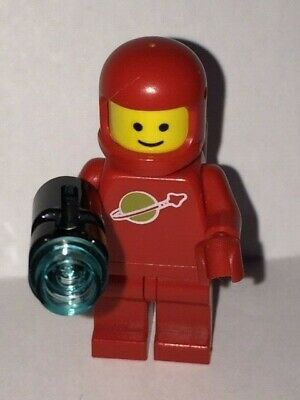 GENUINE - Lego Minifigure - Lego Spaceman Classic Red with Air Tanks