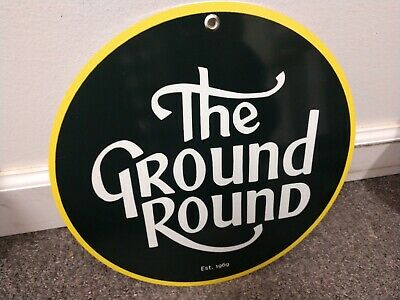 The Ground Round restaurant Sign...FREE shipping on 10 signs