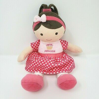 "10"" Child Of Mine Carter's Princess Pink Baby Doll Stuffed Animal Plush Toy 2013"