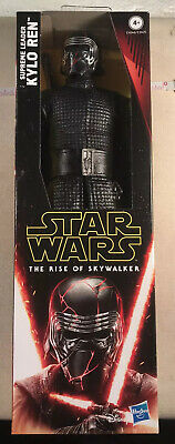 "STAR WARS EP9 Rise of Skywalker Hero Series 12"" Supreme Leader Kylo Ren Figure"