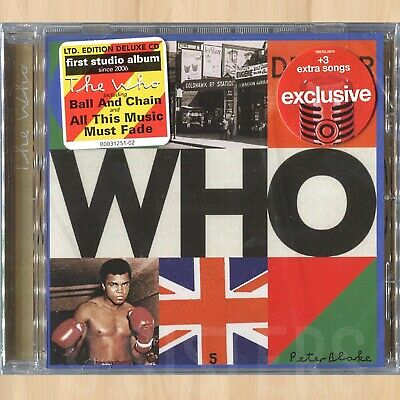 +3 BONUS TRACKS---> WHO - The Who EXCLUSIVE Deluxe CD This Gun Will Misfire 0402