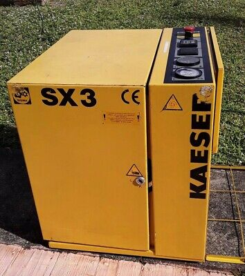 KAESER SX3 rotary screw compressor Sigma - Low Hours