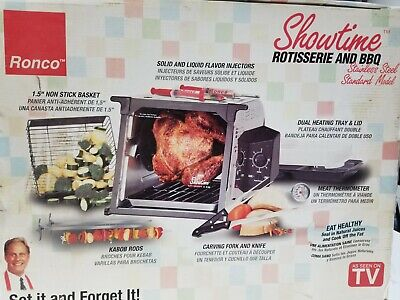 Ronco Showtime Rotisserie and BBQ