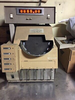 Brandt coin sorter model 930 including with illuminate total coin count