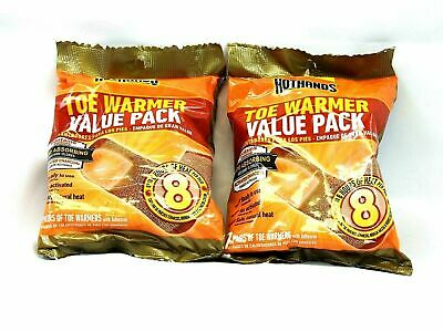 2 Packs - 14 Pairs of Hot Hands Toe Warmers HotHands