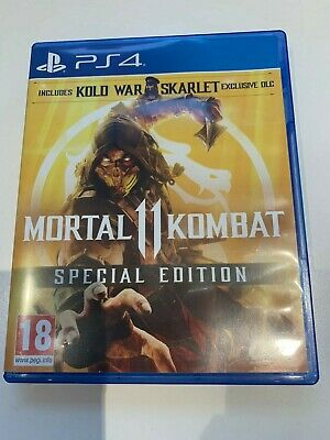 Mortal Kombat 11 - PS4 Game - VGC