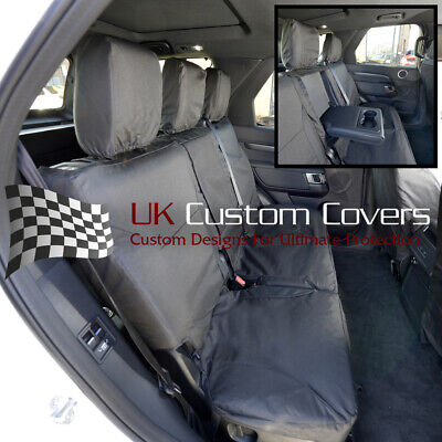 Heavy Duty Black Waterproof Car Seat Covers LANDROVER DISCOVERY 2 2 x Fronts