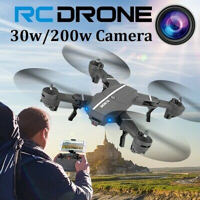 Foldable FPV WIFI RC Drone X with 1080P HD Camera Quadcopter Selfie Wide Angle