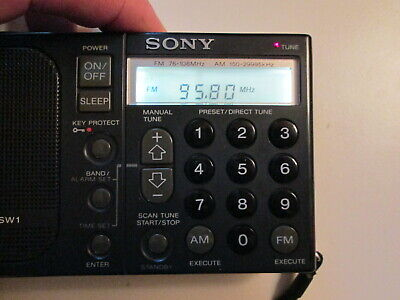Sony ICF-SW1 Capacitor Replacement Repair Service