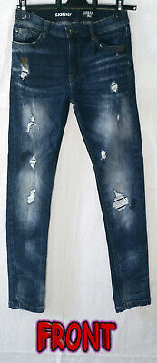 Next Urban Skinny's Distressed Look Jeans Age 10