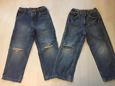 2 Pairs Boys Calvin Klein Jeans Age 5 Years