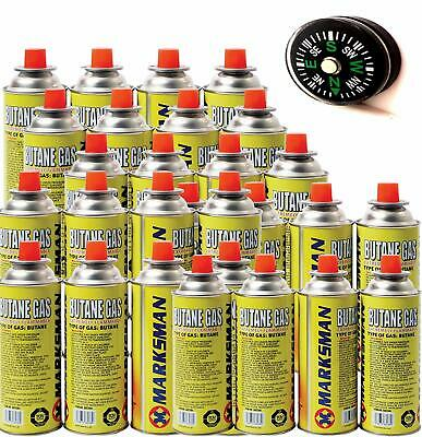 56 Butane Gas Bottles Canister Camping Heater Cooker Bbq Cooking Stove Grill
