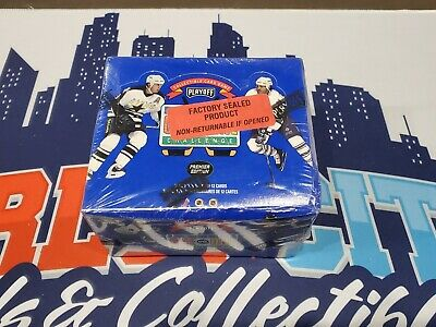 1995 Playoff One on One Challenge Hockey Factory Sealed Booster Box - 36 Packs