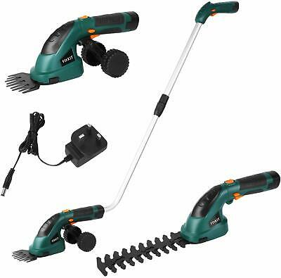 Grass Trimmer 2 IN 1 Pro 7.2V Lithium Ion Cordless Hedge Trimmer-20656