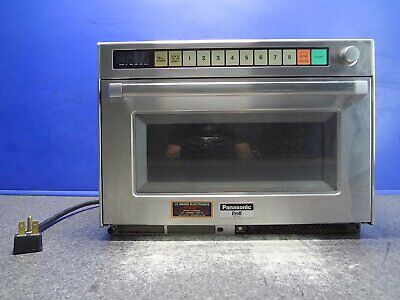 Used Panasonic Countertop Steamer Pro2 Ne3280 Commercial Microwave Oven Proii