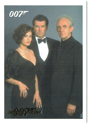 James Bond Archives 2014 Tomorrow Never Dies GOLD Parallel Card Set 93 Cards