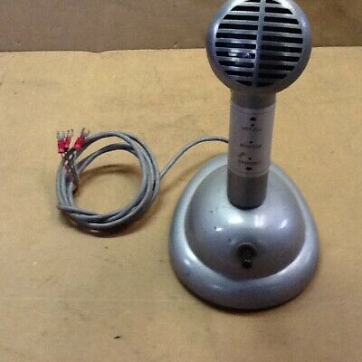 Shure  Brothers Desk Top Police mic Microphone Vintage ( Mayberry MPD  ?)