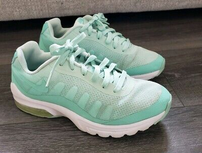 Older Girls Womens Turquoise Ombre Nike Air Max Invigor trainers size 5 EU 38