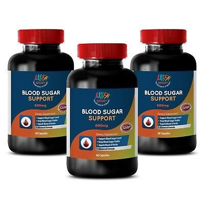 Helps the Heart - BLOOD SUGAR SUPPORT - Cardiovascular Health - 3B 180Ct
