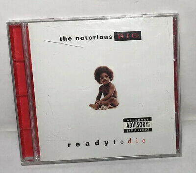 The Notorious Big Ready To Die 1994 Og Release Parental Sticker No Barcode