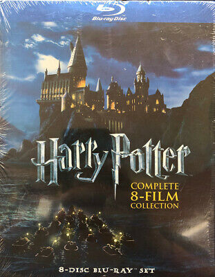 Harry Potter Complete 8-Film Collection (Blu-ray) BRAND NEW SEALED