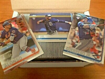 2019 Topps Chrome Complete Base Set 1-204 Includes SP's Free Shipping