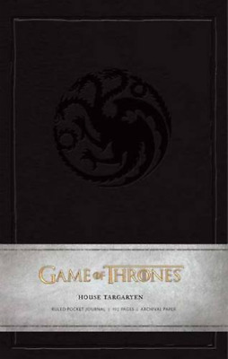 Insight Editions (Cor)-Game Of Thrones House Targaryen Rul (UK IMPORT) HBOOK NEW