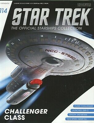 Star Trek Official Starship Collection Number 114 - Challenger Class