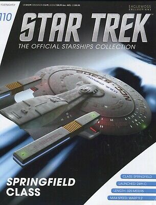 Star Trek Official Starship Collection Number 110 - Springfield Class
