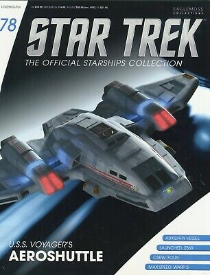Star Trek Official Starship Collection Number 78 - U.S.S. Voyager's Aeroshuttle