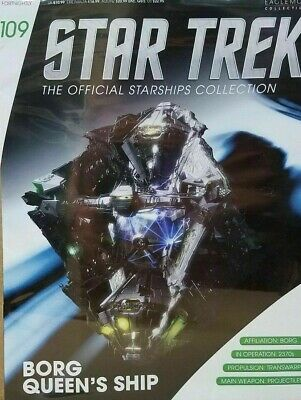 Star Trek Official Starship Collection Number 109 - Borg Queen's Ship