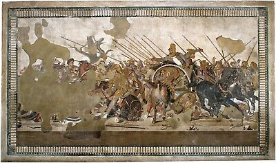"""Hellenistic Mosaics  COLLECTION OF 6 FINE ART ARCHIVAL PRINTS Mounted 18x12"""""""